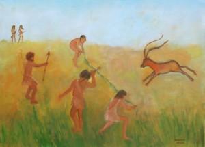Vrouwen emancipatie geschiedenis beeld nomaden