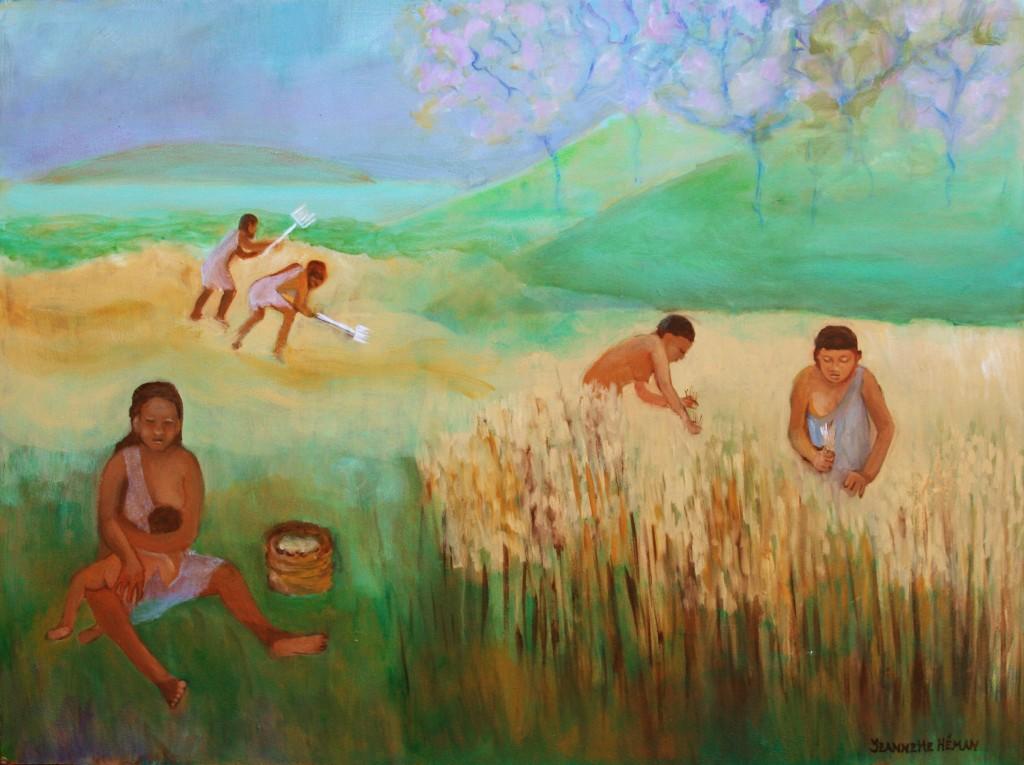 9. De ontdekking van landbouw