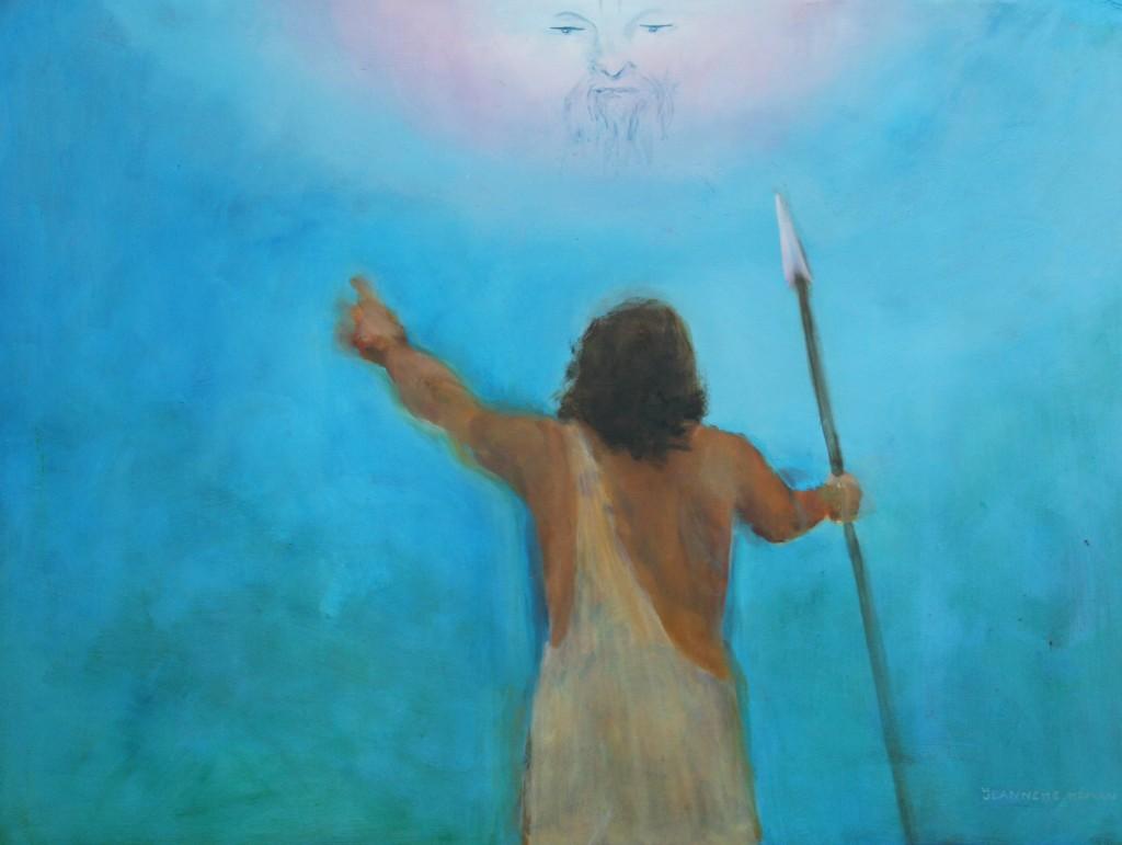 12. Man werd verbeeld als God
